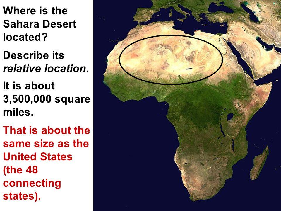 REGIONS OF AFRICA SAHARA DESERT Where Is The Sahara Desert - Sahara desert location