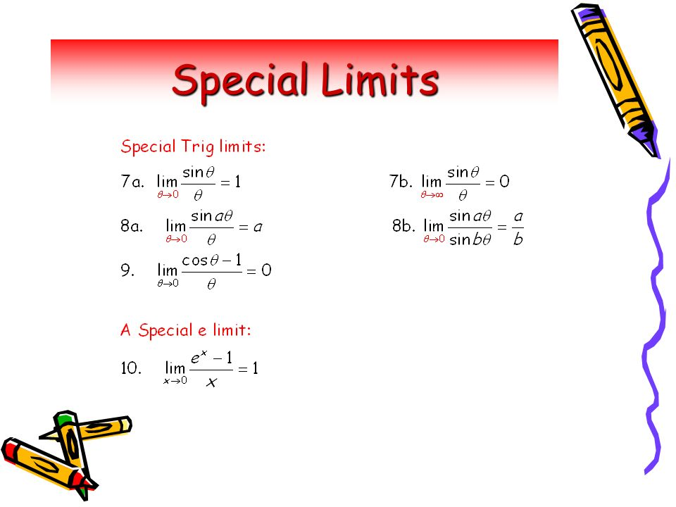 14 Special Limits