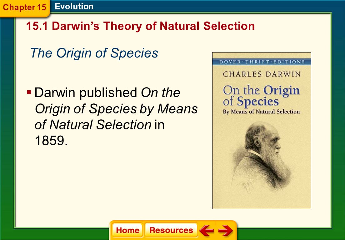 the theme of nature in charles darwins the origin of species
