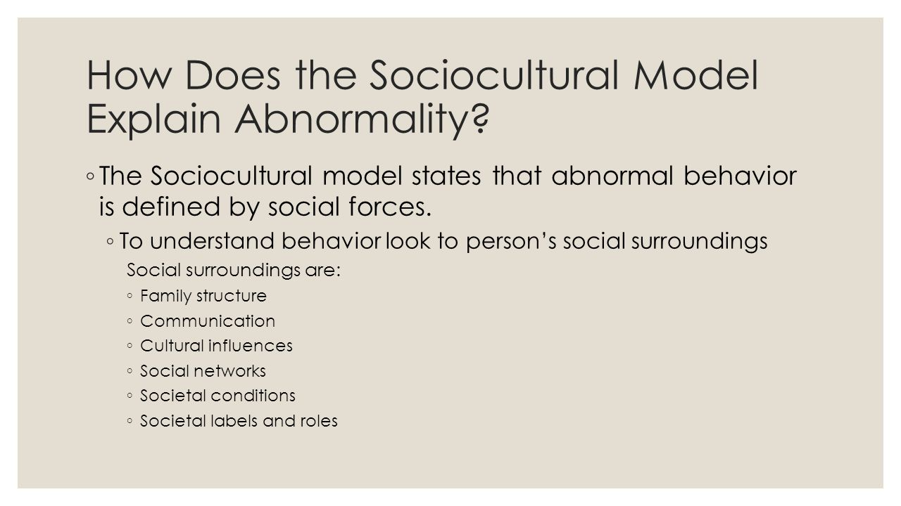 abnormal behavior of cults essay In this article conformity, compliance, and obedience conformity refers to when people obedience is a change in behavior as a result of a direct command.