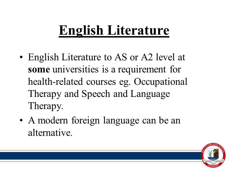A Level English Language and Literature SlideShare