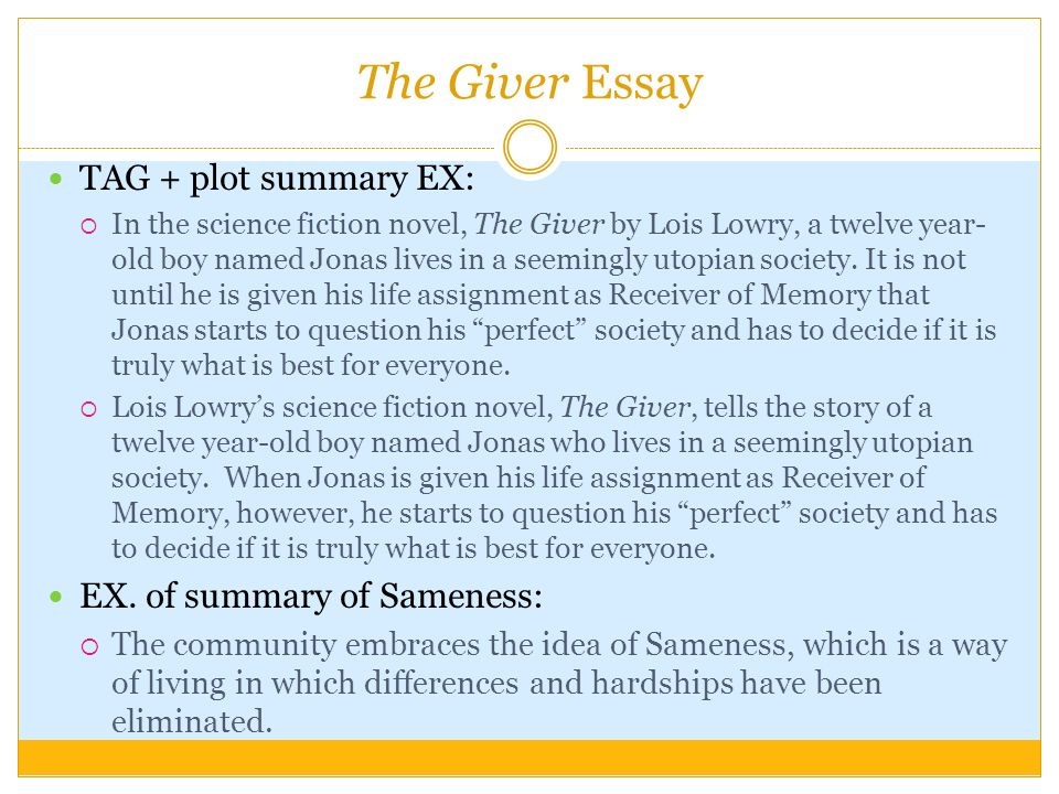 language arts writing sol how to writing prompts ppt 19 the giver essay tag plot summary ex iuml130iexcl in the science fiction novel the giver by lois lowry a twelve year old boy d jonas lives in a seemingly