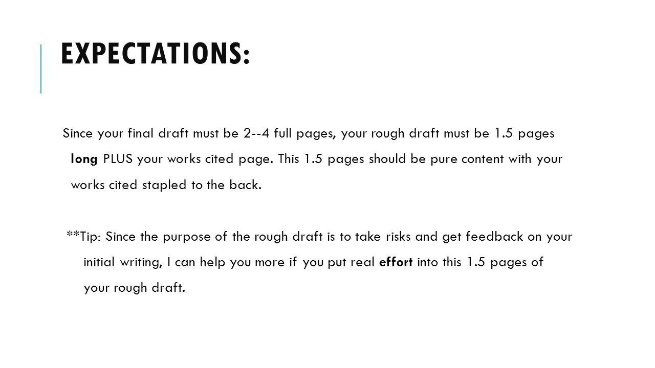 english 11 rough draft paper
