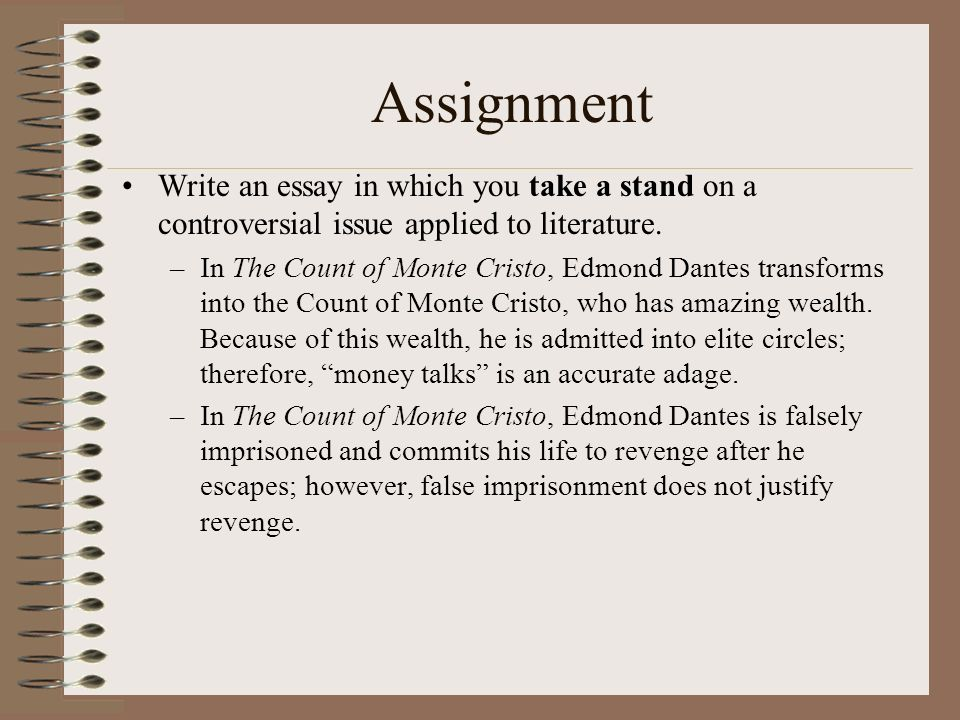 essay about vengeance A revenge essay can talk about a revenge harbored either against an individual or against a certain group a well-written revenge essay can also talk about how people in society crave revenge when they are wronged.