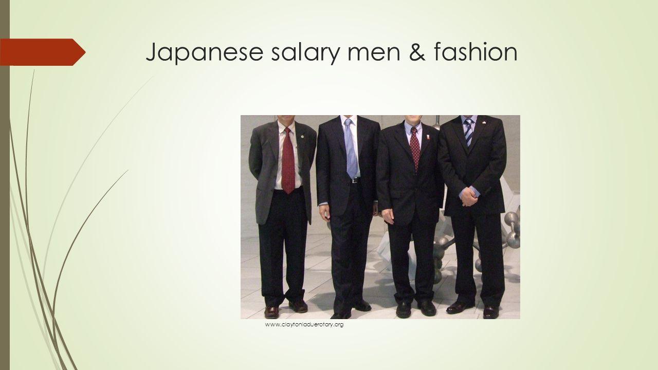 Japanese salary men & fashion www.claytonladuerotary.org