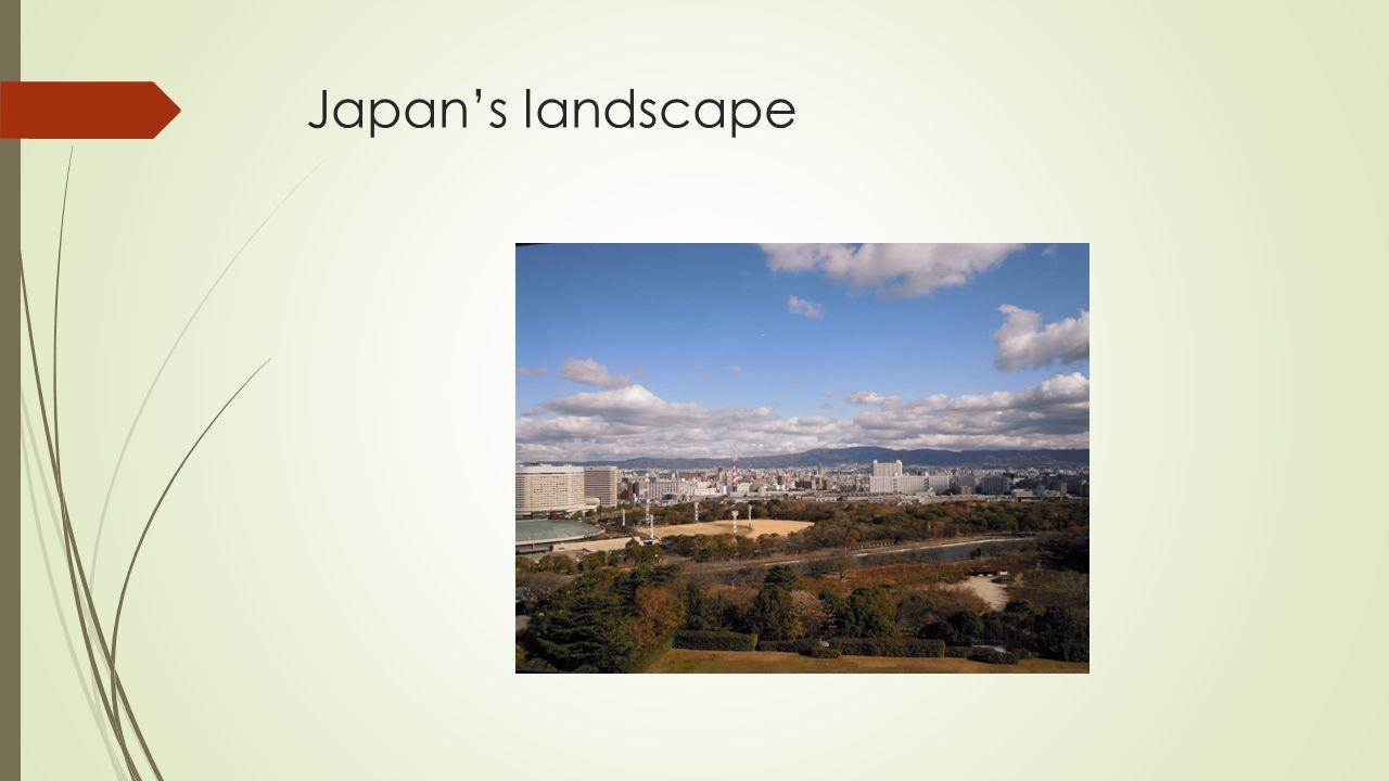 Japan's landscape