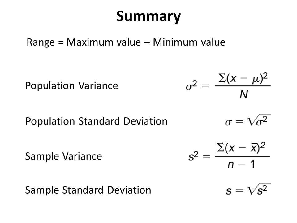 Sect.2.4 Measures Of Variation Objective: Swbat Find The Range Of