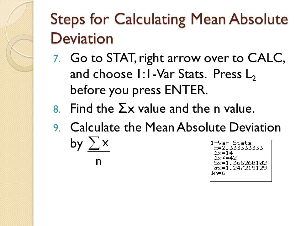 Mean Absolute Deviation Symbol 46941 Loadtve