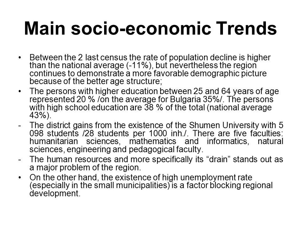 socio economic case studies