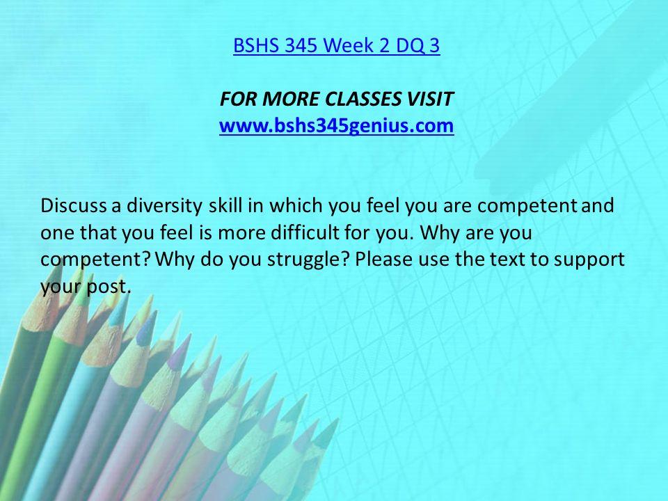 bshs 345