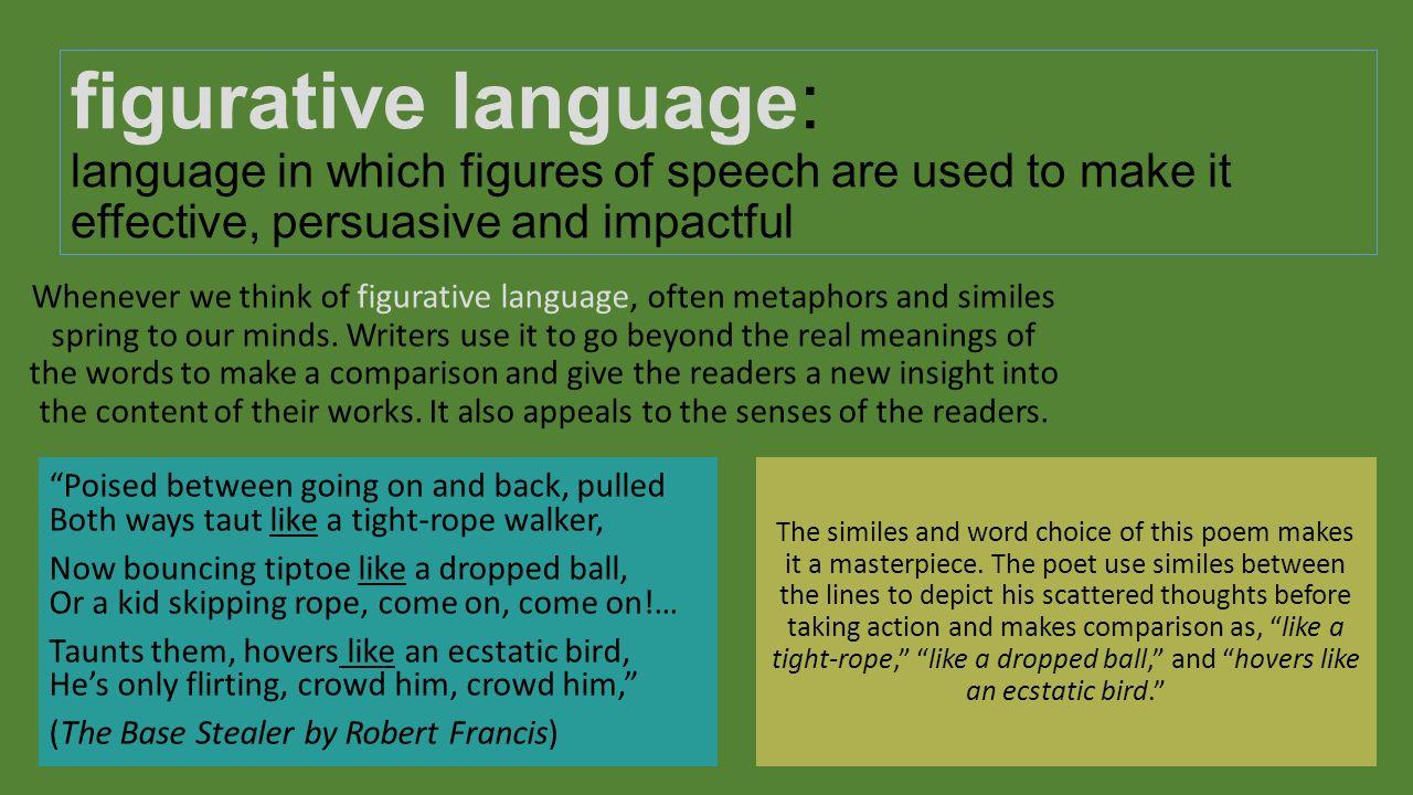 use of figurative language as persuasion