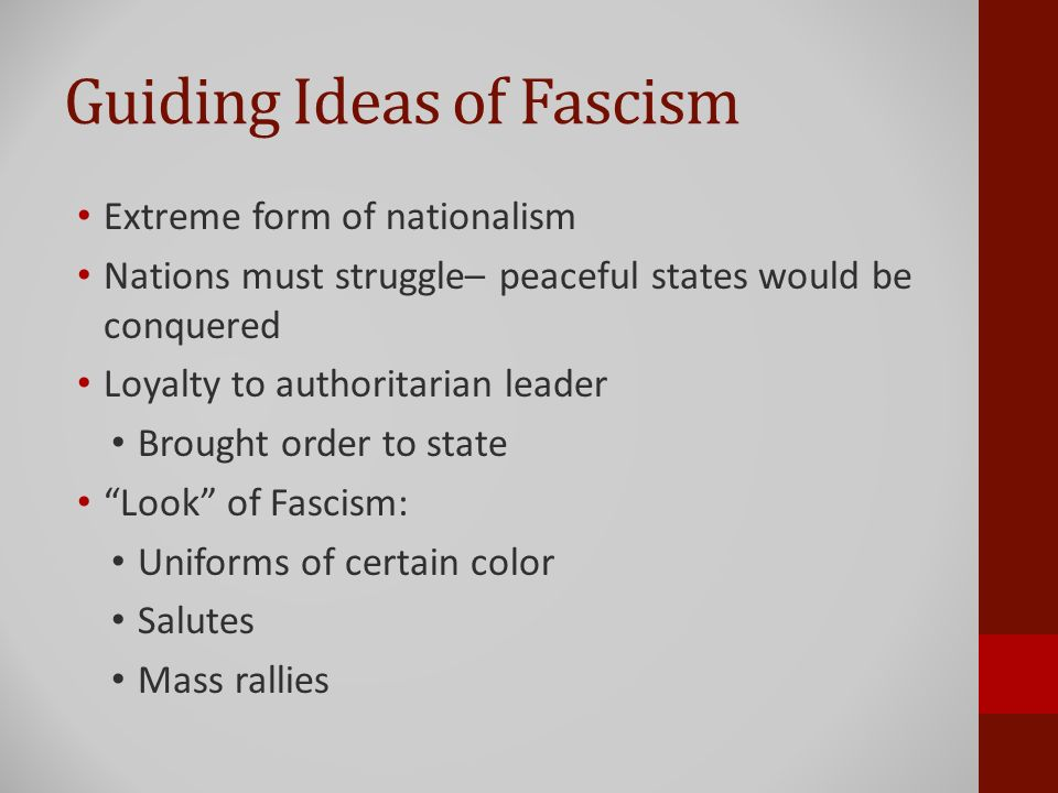 The Rise of Hitler and Nazism 31 March. Essential Question Why did ...