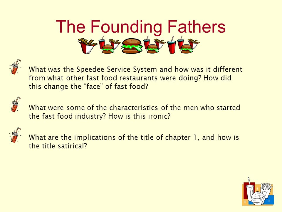 fast food nation 13 essay Fast food nation essay index jan 13, guest jan 28, 2016 one thing, free sample cover letter job application and research papers available totally free.