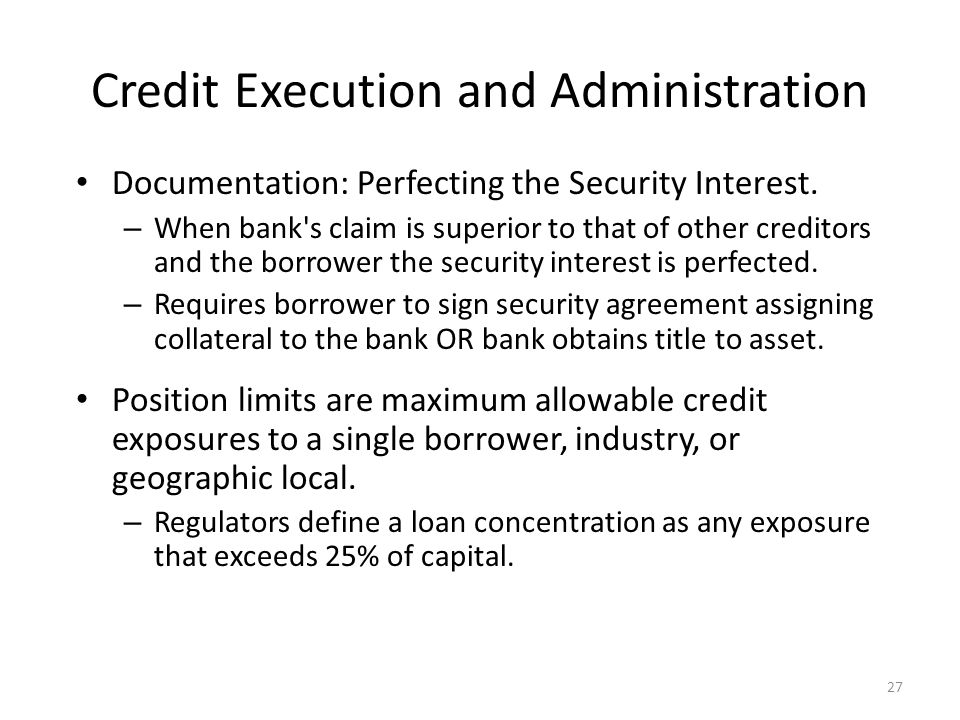 Chapter 13: Overview Of Credit Policy And Loan Characteristics Ppt