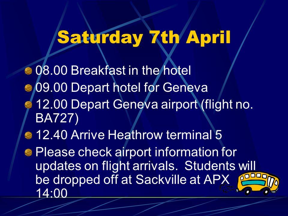 geneva airport arrivals