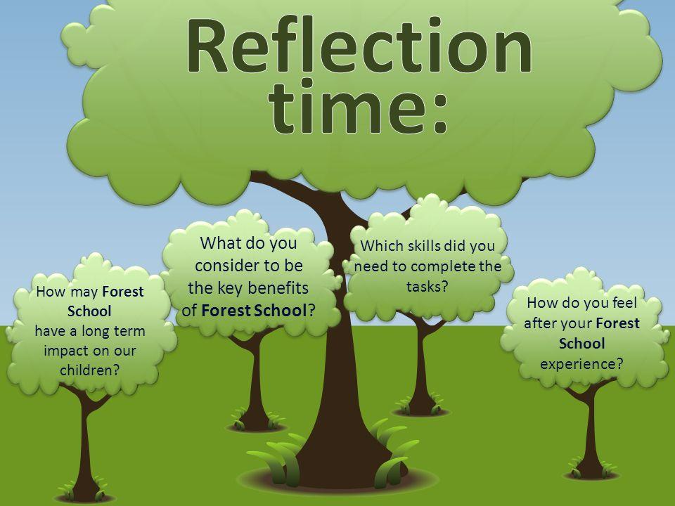 benefits of forest schools