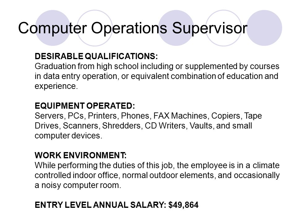 IT Jobs Positions available in the field of Information Technology ...