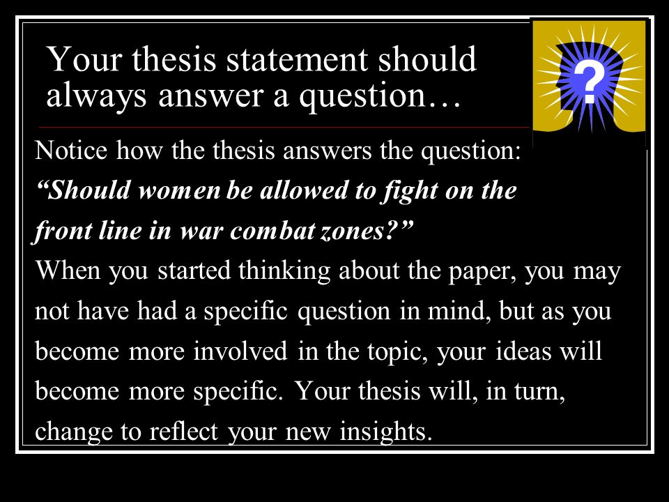restating your thesis statement Restating the thesis statement 2008 cahsee ela released test questions – testing opinionswith a brief summary essay writer job restating your thesis.
