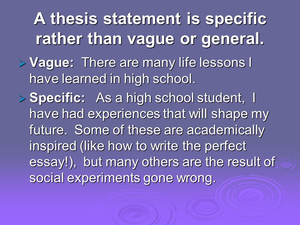 thesis statements definition  a thesis statement in an essay is  5 a