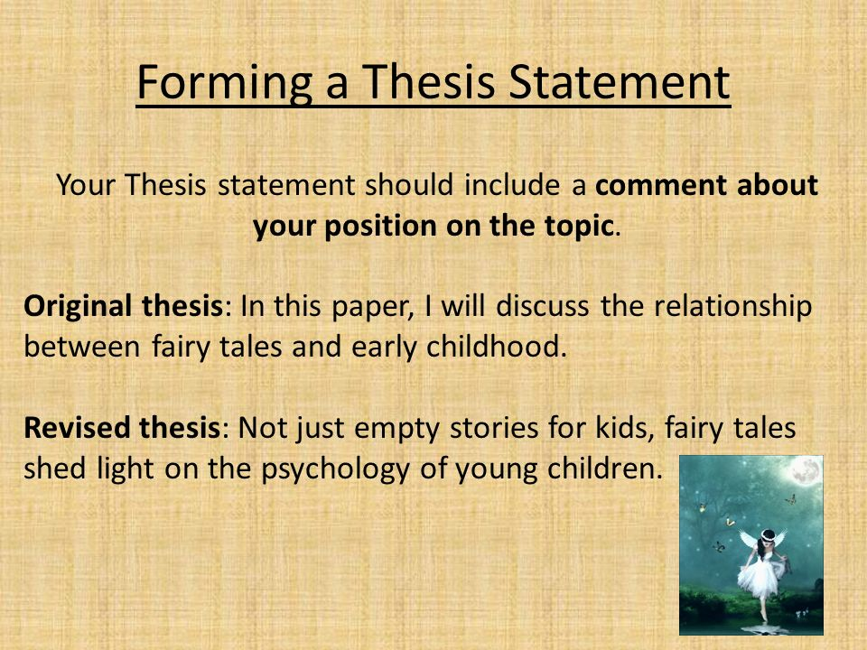help form a thesis statement Be sure to visit these guides for well-written help regarding thesis statement of how a thesis statement evolves from draft form thesis statements.