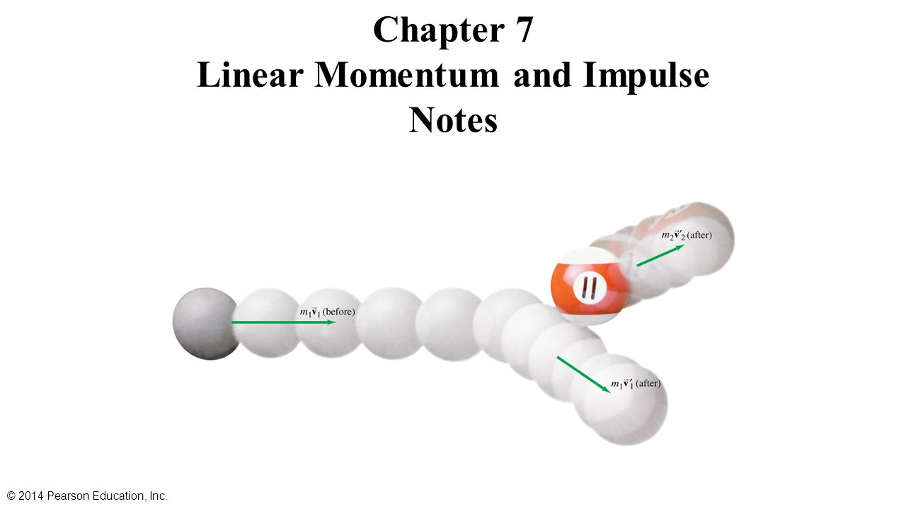 chapter 7 momentum and impulse Chapter 7 momentum and impulse collisions how can we describe the change in velocities of colliding football players, or balls colliding with bats how does a strong force applied for a very short time.