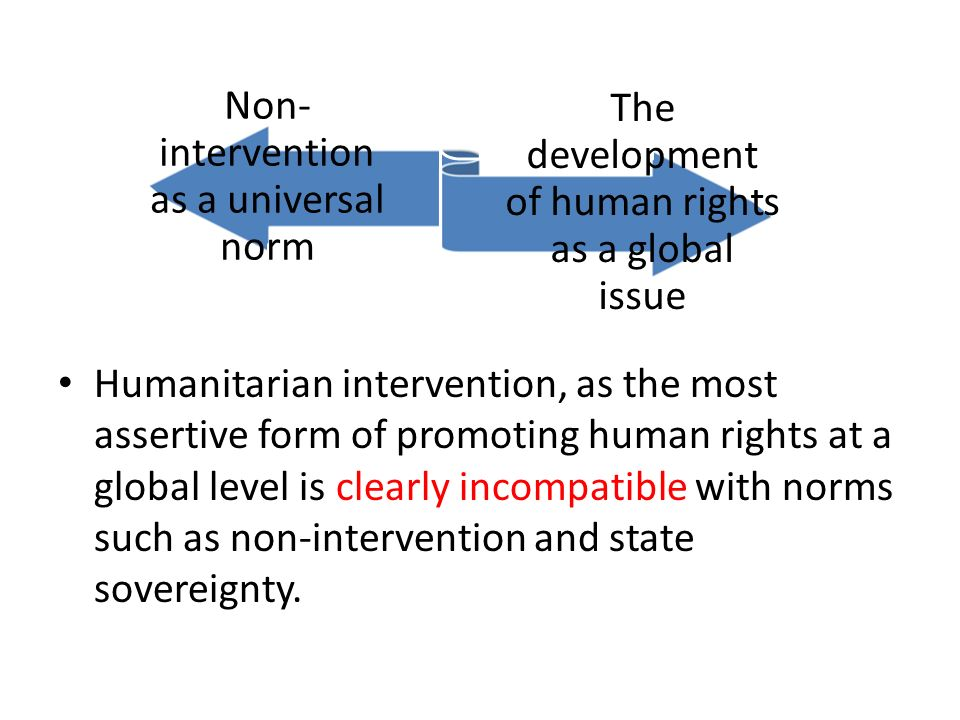 to what extent is humanitarian intervention Humanitarian intervention and peace operations 309 introduction humanitarian intervention is directed towards two purposes: providing emergency.