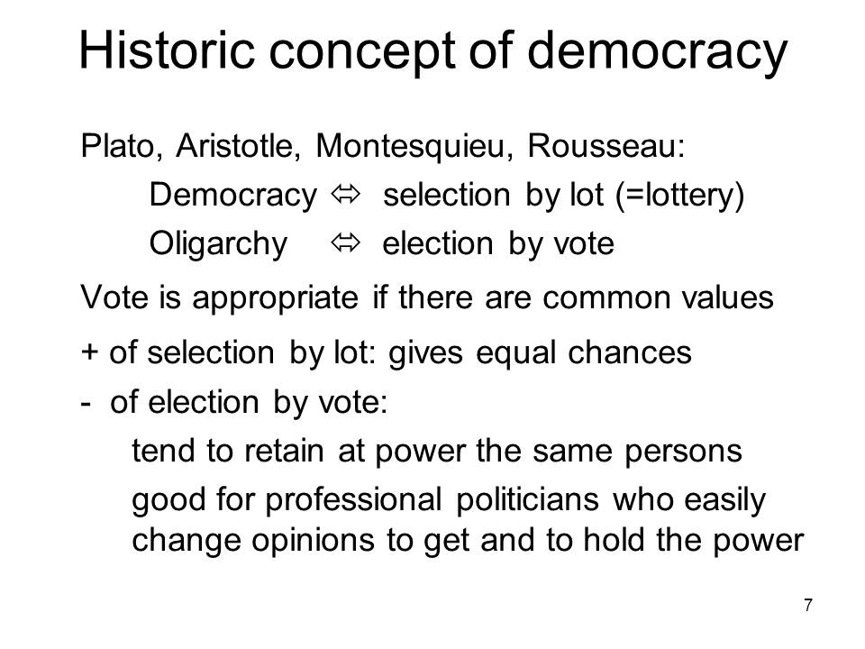 a comparison of plato and aristotles conception of democracy Democracy, athens, greece - democracy outlined by plato and aristotle.