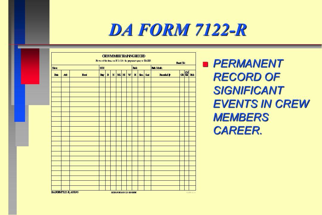 Da Form 7122 R Cogu Lessecretsdeparis Co