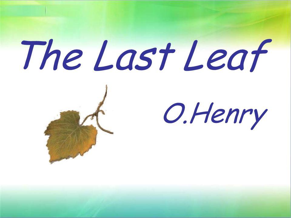 the last leaf analyis