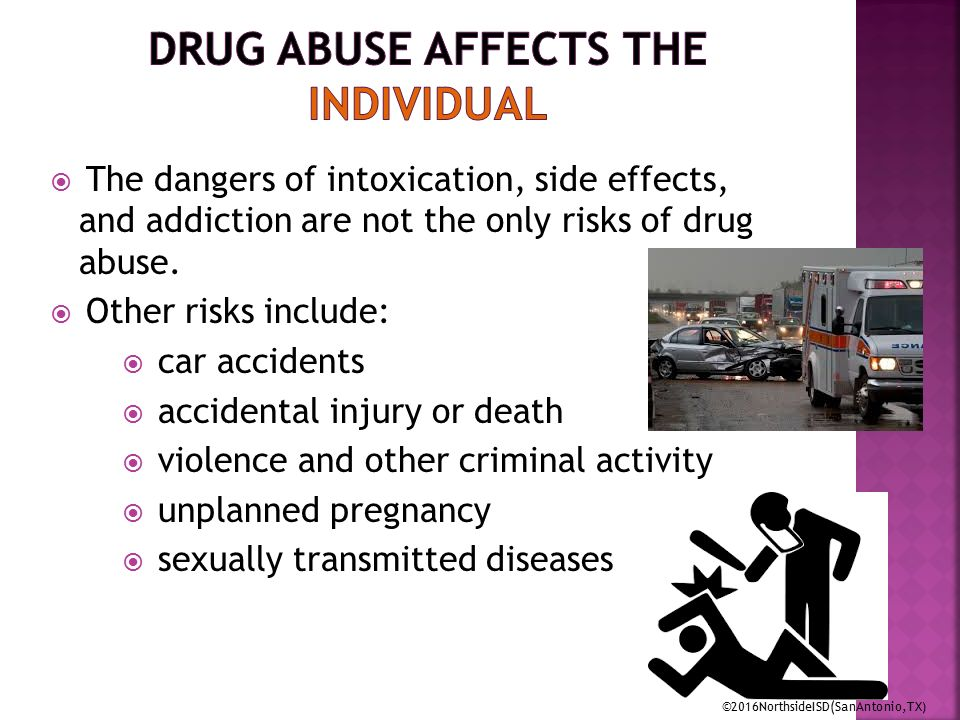 drug abuse and effects There are different types of treatment for drug abuse but the best is to prevent it understand more about substance abuse.