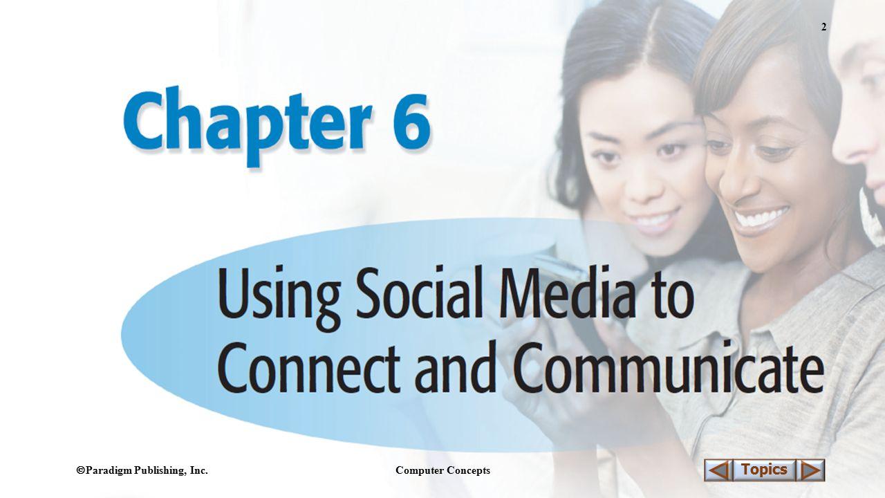  Paradigm Publishing, Inc. Computer Concepts 2 Topics