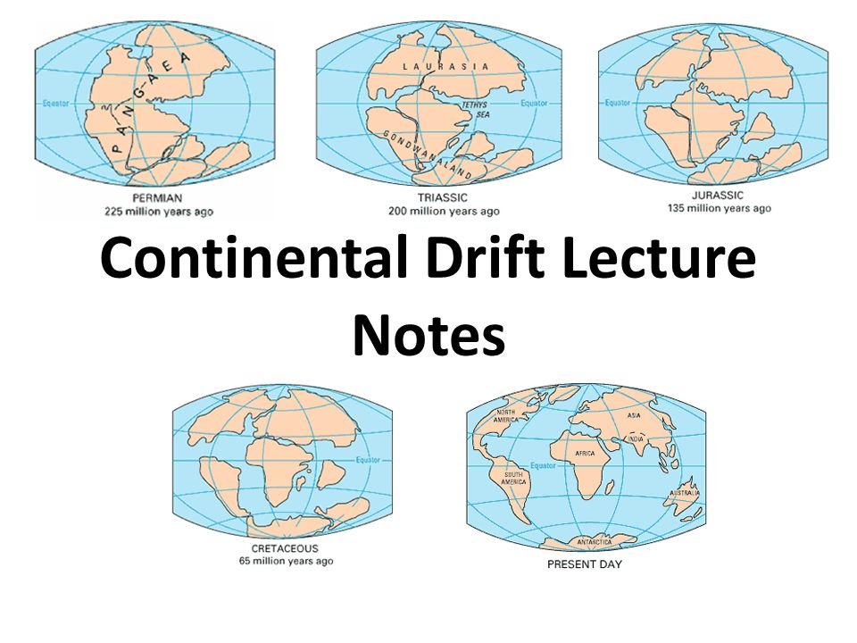 the idea of continental drift by f b taylor American geologist f b taylor's idea of crustal movements in 1910 1970 the academic community finally accepted continental drift and the.