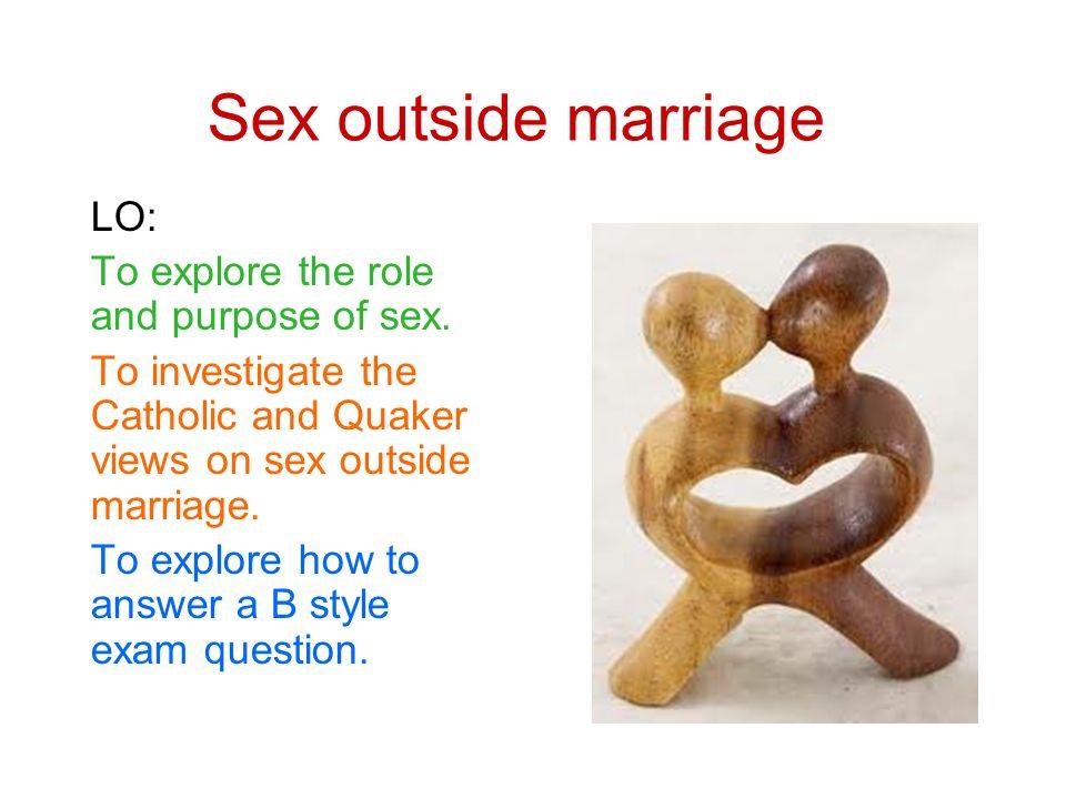 Purpose of sex in marrriage
