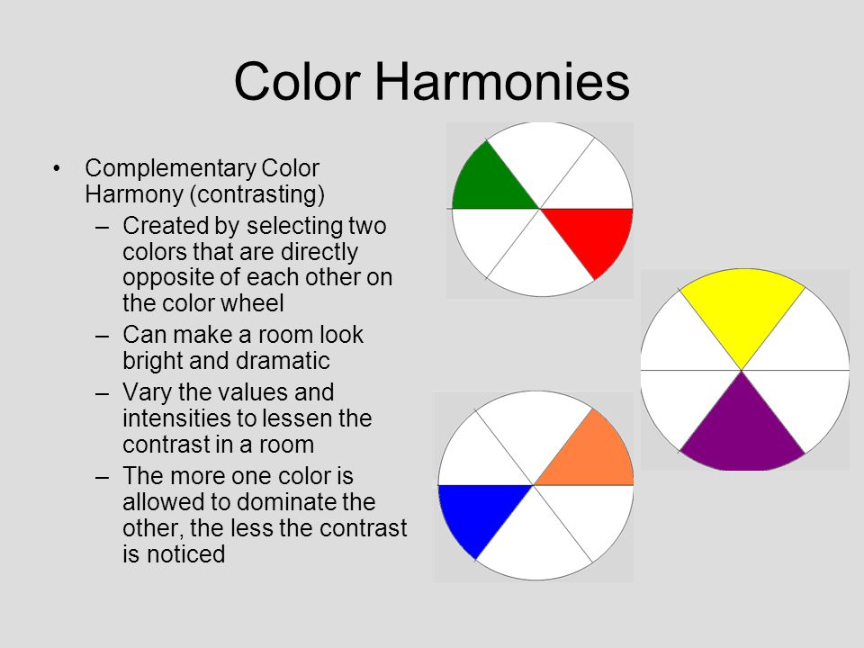 Goals for Today 1Identify the relationship between color and