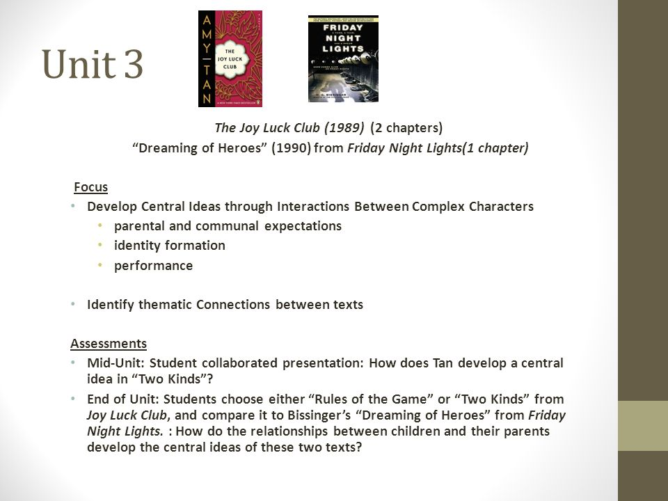 joy luck club character analysis About the joy luck club character list summary and analysis full glossary for the joy luck club summary and analysis part i: feathers.