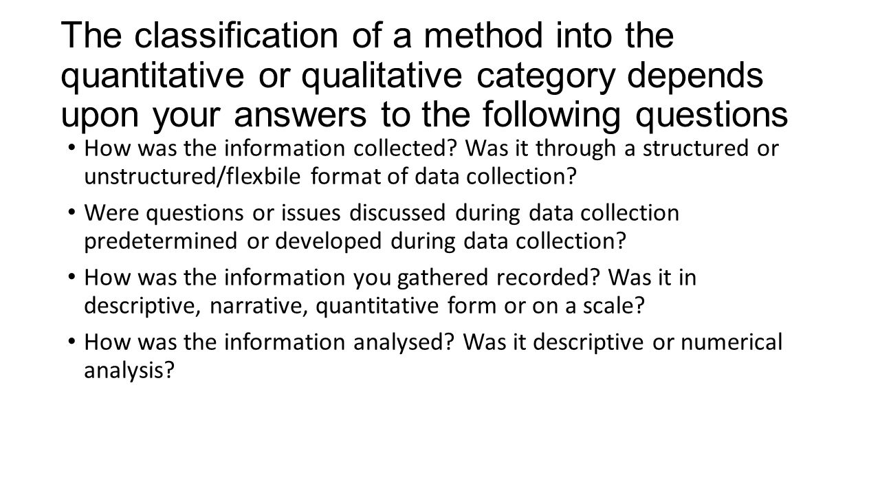 what is qualitative and quantitative research methods Back to glossary qualitative and quantitative research methods qualitative and quantitative research methods are the two broad elements which make up market research in short, quantitative research methods are often based on more numerical forms of data and qualitative research methods tend to be more discussion based.