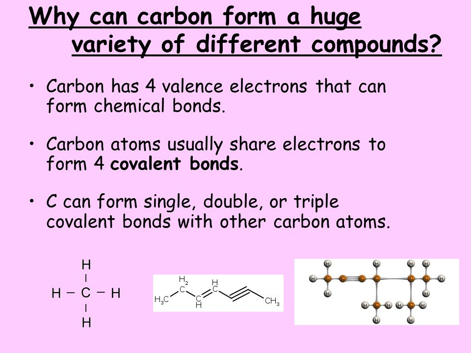 Chapter 7 – Carbon Chemistry Section 1 – Chemical Bonding, Carbon ...