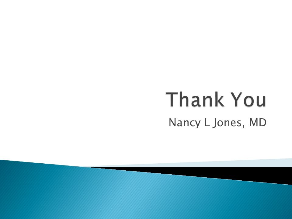 Nancy L Jones, MD