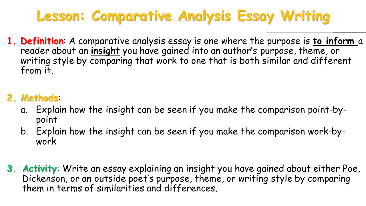 compare and contrast conversation analysis with Compare vs contrast compare and contrast are words that are often used to talk about the similarities and differences between two things or objects these two words are very commonly used.