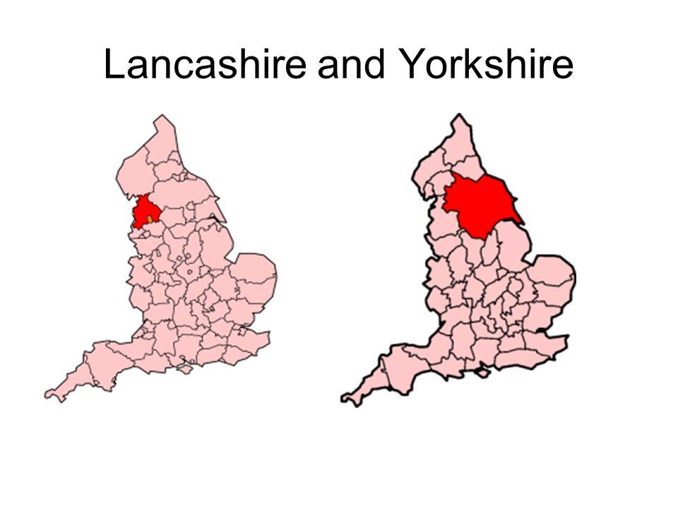 Lancashire and Yorkshire