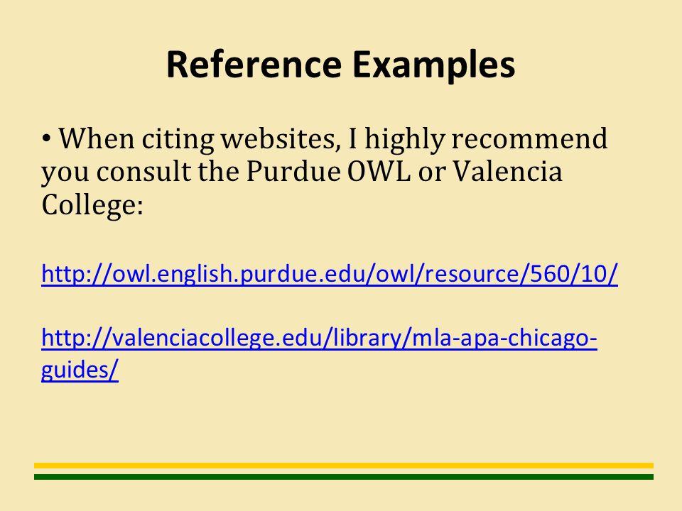 owl literature review apa