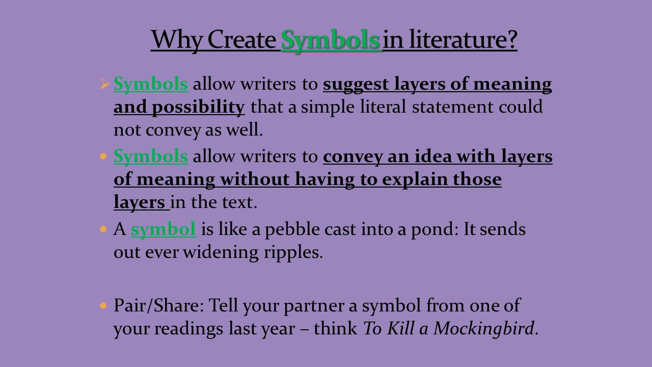 Characterization process by which the writer reveals the symbols allow writers to suggest layers of meaning and possibility that a simple literal statement biocorpaavc Choice Image
