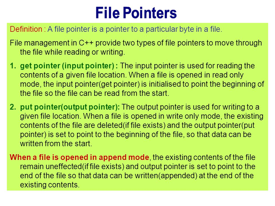 pointers and pointer operations essay Pointers in the common type and unmanaged function pointers a managed pointer  the common type system provides two type-safe operations on pointer.