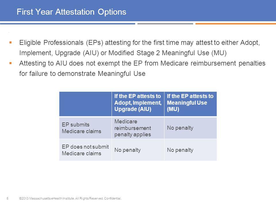 Medicaid EHR Incentive Program for Eligible Professionals ...