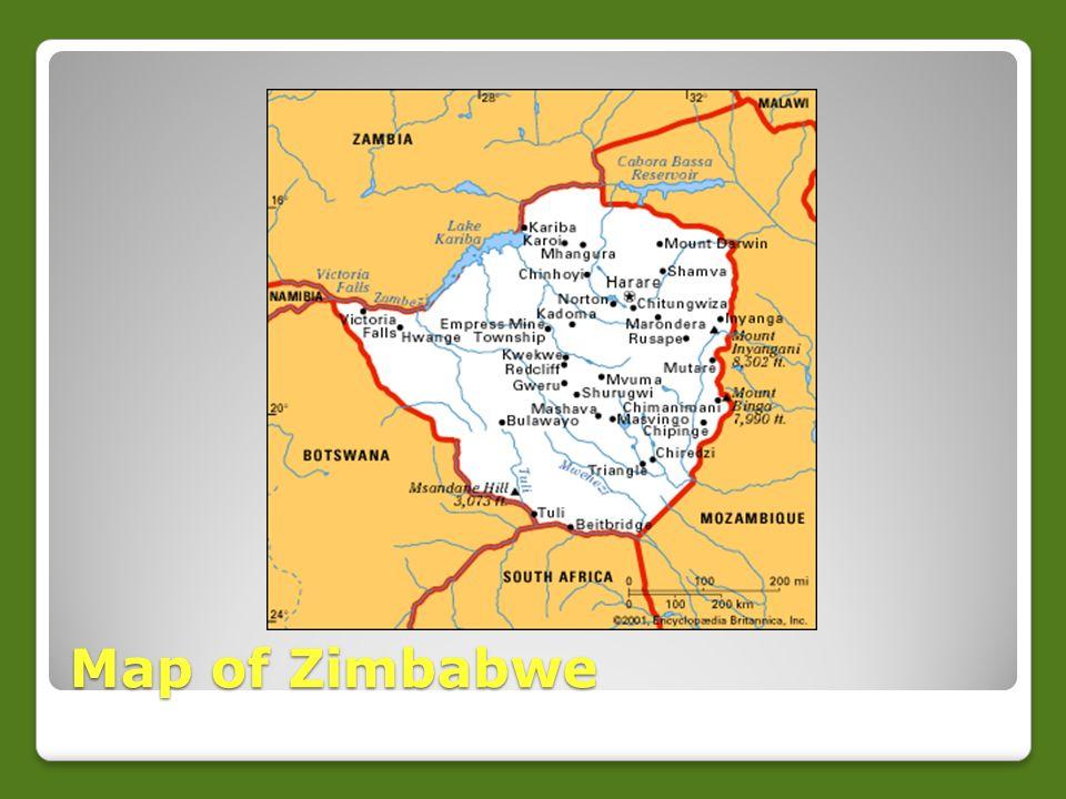 Zimbabwe Republic Of Zimbabwe By Karl Allegheny Elementary Ppt - Republic of zimbabwe map