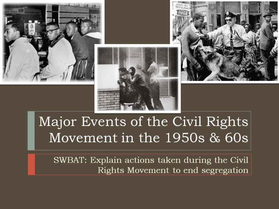 the civil rights movement main