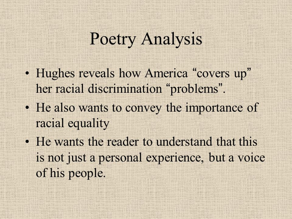 I, TOO Langston Hughes – His Poetry and His Legacy. - ppt download