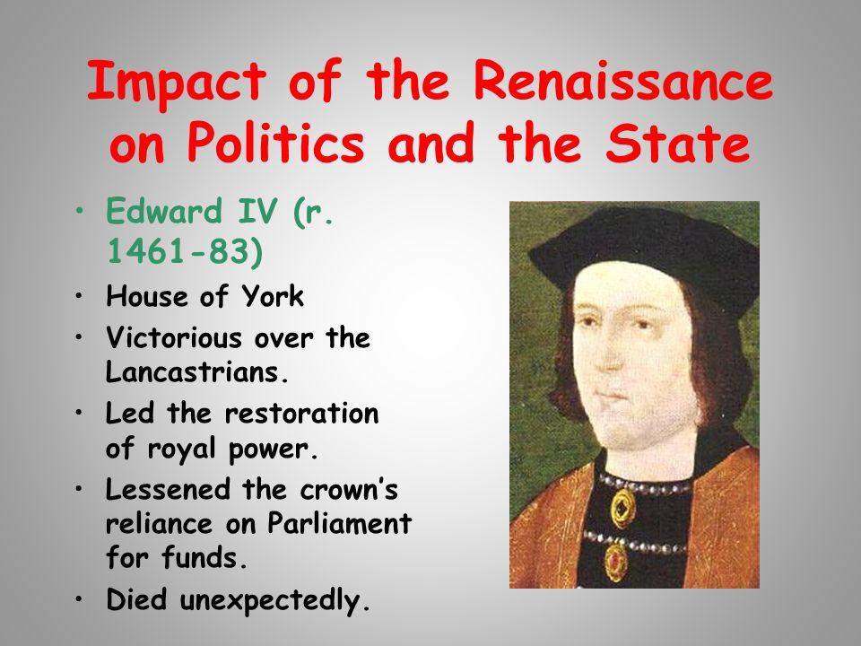 How did the reniassance affect the upper class?