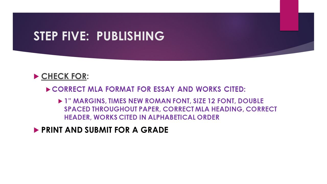 steps for writing a five paragraph essay
