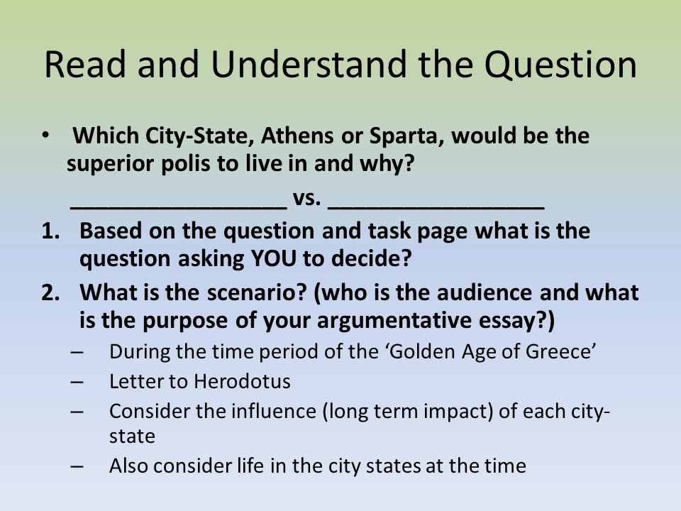 would you rather live in ancient athens or sparta essay I need to write an essay on how athens are better than spartans you have rather lived in, athens or sparta rather live in ancient greece: athens.